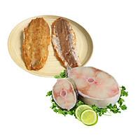 Combo: 1kg Cá bớp cắt khoanh + 500gr Khô cá mối tẩm gia vị đặc biệt