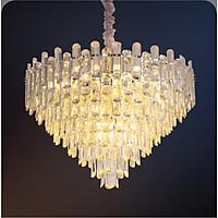 Đèn chùm pha lê cao cấp thiết kế sang trọng trang trí phòng khách, nhà hàng, quán cafe, khách sạn CFL 8190