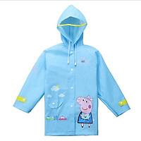 Áo đi mưa Peppa Pig chống thấm nước kèm bao bảo vệ cho bé trai
