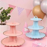 Đế bánh cupcake hồng