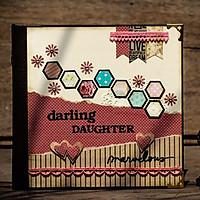Album Ảnh Handmade Darling Daughter (20 x 20 cm)