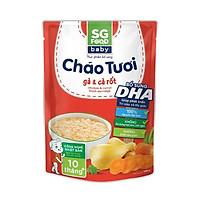 Cháo tươi Baby Sài Gòn Food Gà & Cà rốt 240g