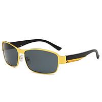 Kính mát phân cực mới của nam giới, kính thay đổi màu, chống tia UV dành cho nam giới - KM09 - Tặng thêm khăn lau kính