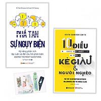 Combo Phá Tan Sự Ngụy Biện + 10 Điều Khác Biệt Nhất Giữa Kẻ Giàu Và Người Nghèo - Tặng kèm bookmark PĐ