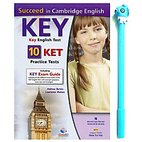 Succeed in KET - 10 Practice Tests (Kèm 01 Đĩa MP3) ( Tặng Kèm Bút)