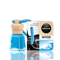 Tinh dầu treo ô tô Aroma Car Wood Mini 4ml - Ocean ( đại dương)