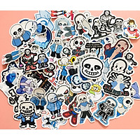 Set 60 Sticker Sans Undertale