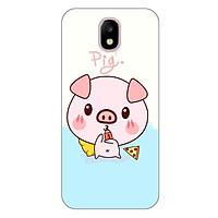 Ốp lưng dẻo cho Samsung Galaxy J3 Pro_Pig 03