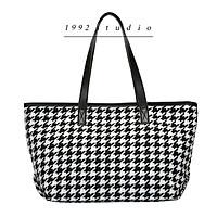Túi xách nữ/ 1992 s t u d i o/ FREYA BAG/ túi xách nữ công sở/ túi đi học/ túi đựng laptop/ họa tiết houndstooth