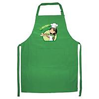 Tạp Dề Làm Bếp In Hình Mom chef - ABZTU002 – Màu Xanh