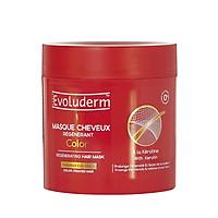 Kem ủ dành cho tóc uốn nhuộm Evoluderm chiết xuất Keratin 500ml