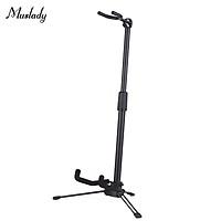 Muslady Foldable Musical Instrument Stand Adjustable Metal Stand Holder for Violin Ukulele