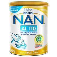 Combo 4 Lon Sữa Bột NAN AL 110 - 400g