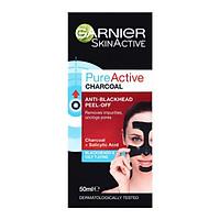 Garnier Skin Active Pure Active Charcoal Anti-Blackhead Peel Off Mask 50ml