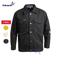 Áo khoác kaki nam HAHAMAN một lớp dầy, mềm thời trang cao cấp AKK3009