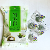 Bánh Mochi Trà Xanh Nhân Kem Green Tea Mochi Creamy Filling (120g)