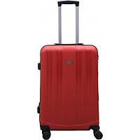 Vali kéo du lịch 837 nhựa PP siêu bền - Đỏ