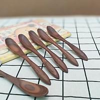 Bộ 6 thìa , muỗng sinh tố gỗ Óc chó (15cmx2cm) - Đồ Gỗ Bàn Ăn Tiện Dụng (OC4)
