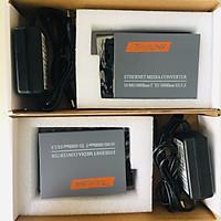 Bộ chuyển đổi quang điện Gigabit 10/100/1000M (1 sợi quang) Netlink HTB-4100A\B ( 2 thiết bị) - Hàng nhập khẩu