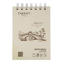 Tập Vẽ Lò Xo Takeyo A6 8529 - Mẫu Ngẫu Nhiên