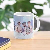 Cốc BTS ly sứ in hình nhóm nhạc BTS Bangtan