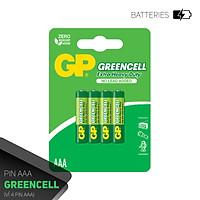 Pin đũa GP Greencell AAA 1.5V (2 viên),Pin AAA GP,Pin chuột máy tính,Pin điều khiển quạt,Pin điều khiển tivi,Pin sử dụng cho các thiết bị nhỏ,Pin đồng hồ treo tường,Pin đồ chơi điện tử trẻ em