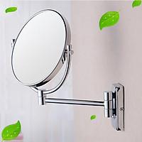 Gương xoay phóng đại 360 độ treo tường dùng treo phòng tắm, phòng ngủ..