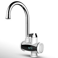3000W IPX4 220V/50HZ  Electric Faucet Temperature Display Instant Hot Tap Water Heater[【3s Quick heat】