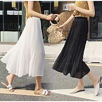 Chân váy xếp ly dáng dài siêu đẹp - hàng chuẩn (Video + Hình thật)