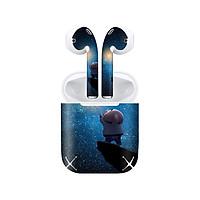 Miếng dán skin chống bẩn cho tai nghe AirPods in hình Heo con dễ thương - HEO2k19 - 057 (bản không dây 1 và 2)