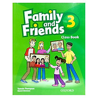 Family and Friends 3 Classbook (without MultiROM) (British English Edition)