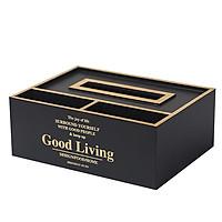 Hộp 3 ngăn Good Living đựng giấy kiêm để đồ phòng ăn tiện lợi