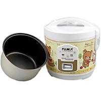 Nồi Cơm Điện 1.5L Fujika FJ-NC1505 Nắp Gài Công Suất 400W Phủ Lớp Chống Dính Polyethersulfone Cao Cấp Cho 3-5 Người Ăn (Họa Tiết Ngẫu Nhiên)-Hàng Chính Hãng