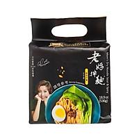 Mì Laoma Noodle Đài Loan chua cay ngũ vị (134g x 4 gói)