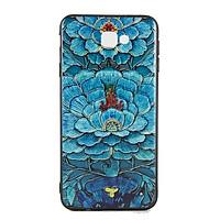 Ốp lưng Samsung J7 Prime Diên Hi - Hoa xanh
