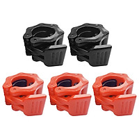 5pcs Durable Plastic Barbell Clamps 1'' Lock Collar Weight Plate Training