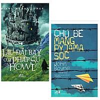 Combo truyện siêu cuốn hút: Lâu Đài Bay Của Pháp Sư Howl + Chú Bé Mang Pyjama Sọc + Poscard