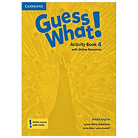Guess What! Level 4 Activity Book with Online Resources British English