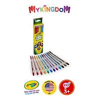 Bộ bút chì màu CRAYOLA gồm 12 màu dạng văn có mùi hương 687402