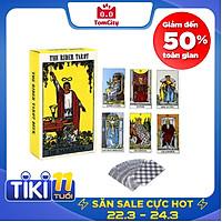 Bộ bài bói Tarot The Deck xem vận mệnh tặng túi đựng bài
