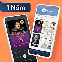 Gói Hội viên Ứng dụng sách nói Fonos: Gói 1 năm