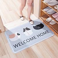 Thảm Sợi Mèo Welcome Home
