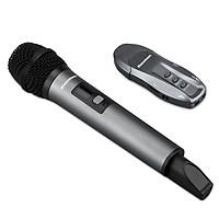 Micro Karaoke không dây Excelvan K18V 01 mic VHF - Hàng Chính Hãng
