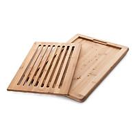 Thớt Tre Cắt Bánh Mì Lacor 40x32x2 cm