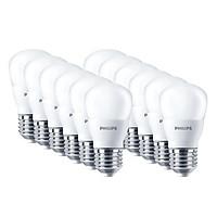 Bộ 12 Bóng Đèn Philips LED Ledbulb 3.5W 3000K E27 P45 - Ánh Sáng Vàng - Hàng Chính Hãng