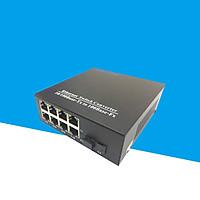 Converter quang 8 cổng lan 100Mbp Ho-link HL-SF1008D - Hàng Chính Hãng