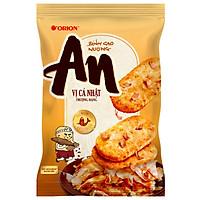 Thùng 10 Bịch Bánh Gạo Nướng An Vị Cá Nhật (14Gói x 8.4g)