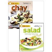 Combo Các Món Chay Bỗ Dưỡng + Các Món Salad Trái Cây - Rau Củ Ngon Tuyệt (Bộ 2 Cuốn)