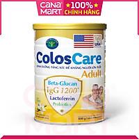 Sữa bột Nutricare ColosCare Adult tăng cường sức đề kháng cho người lớn tuổi (800g)