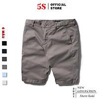 Quần Short Nam Kaki 5S (6 màu), Chất Liệu Vải Kaki Cotton, Bền Màu, Co Giãn Tốt (QSK21050)